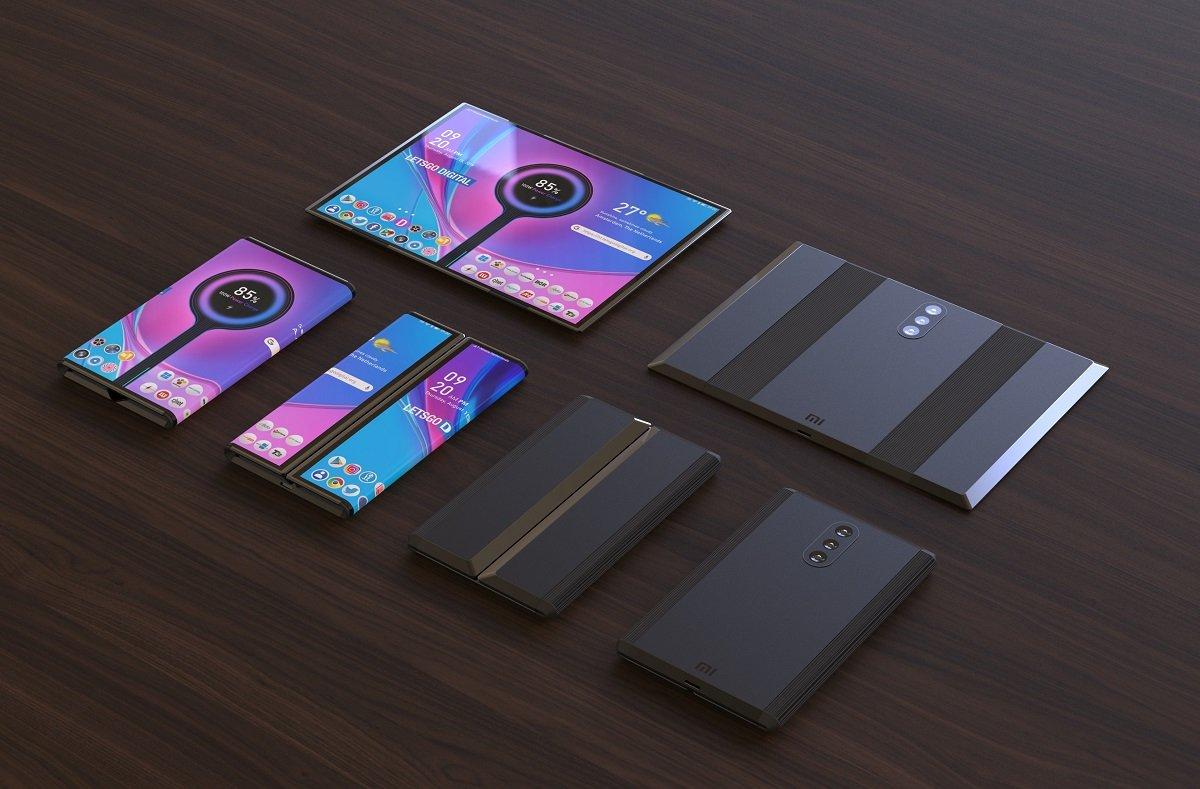Xiaomi şirkəti daha bir qatlana bilən smartfon patentini əldə etdi