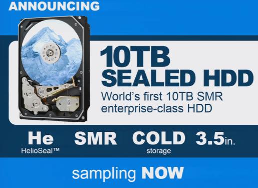 HSGT ilk 10TB sərt diski anons etdi!