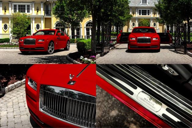Rolls-Royce Wraith-in xüsusi buraxılışı təqdim olundu.