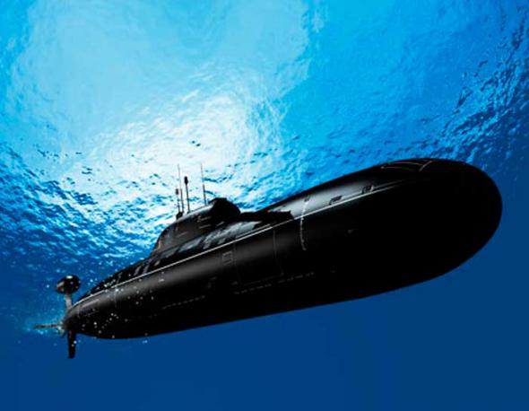 Bu günün ən mükəmməl stealth tipli sualtı gəmisi olan Kockums A26.