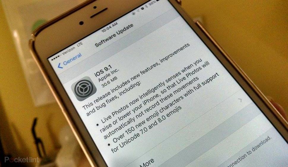 IOS 9.1 yenilənməsi yayımlandı!