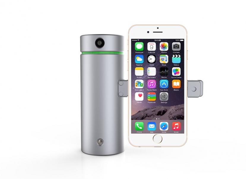 Smartfonlar üçün yüksək dəqiqliyə malik 3D skaner