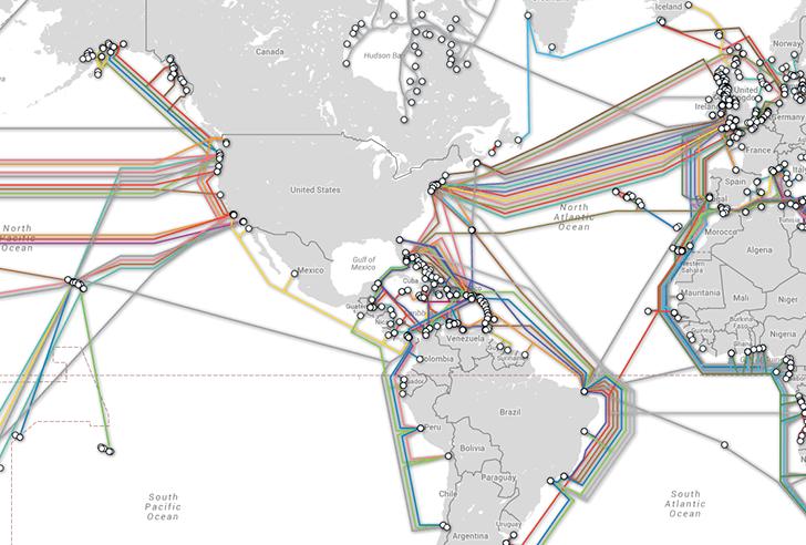 Rusiya dünyanın internet bağlantılarını məhv edə bilər.