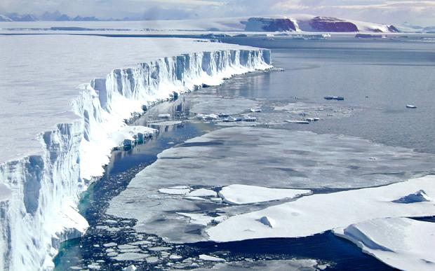 NASA Antraktidada buzlaşma müşahidə etdi, qlobal istiləşmə bitdi?