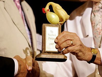 İg Nobel Prize nədir və kimlərə verlir.