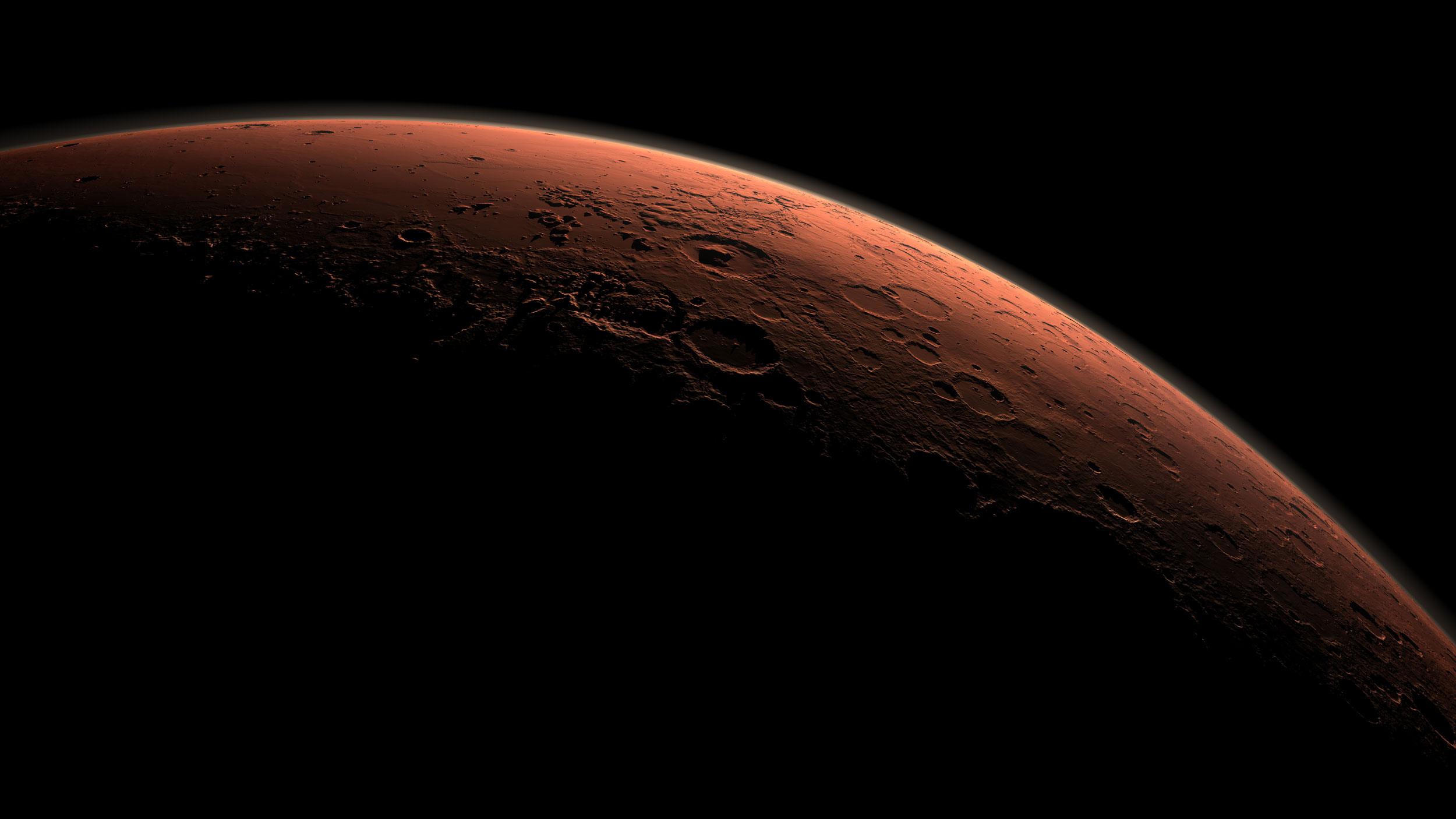 Mars öz atmosferini nece itirib?