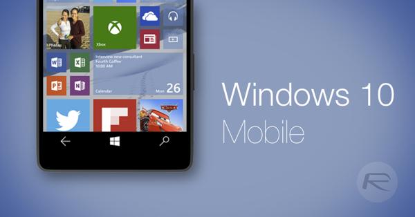 Windows 10 Mobile gələn ilə qaldı!