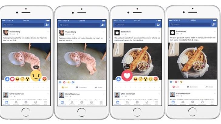 """Facebook\'a """"Bəyən"""" düyməsinə yeni xüsusiyyətlər gəlir!"""