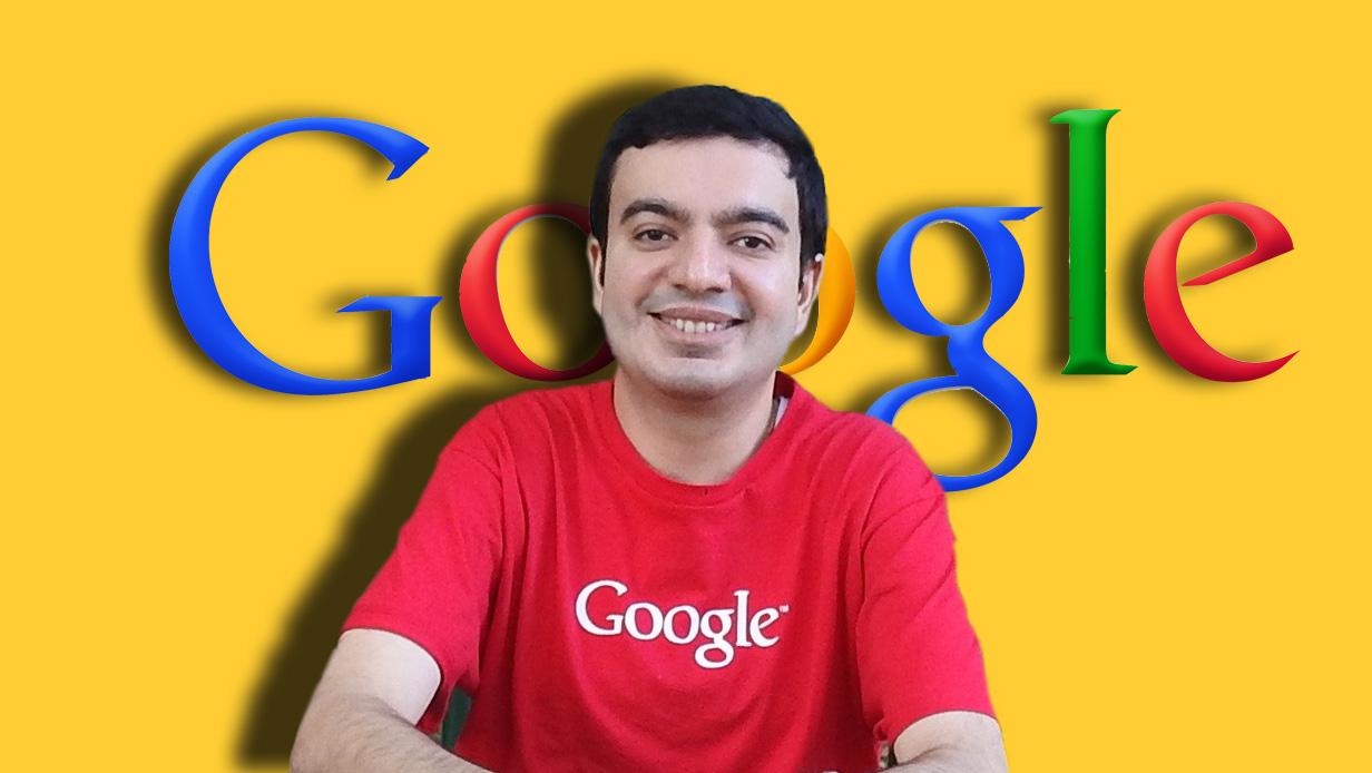 Google-u 12$ alan adam - Sanmay Ved