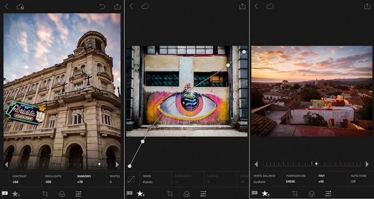 Adobe Lightroom Android versiyası yeniləndi