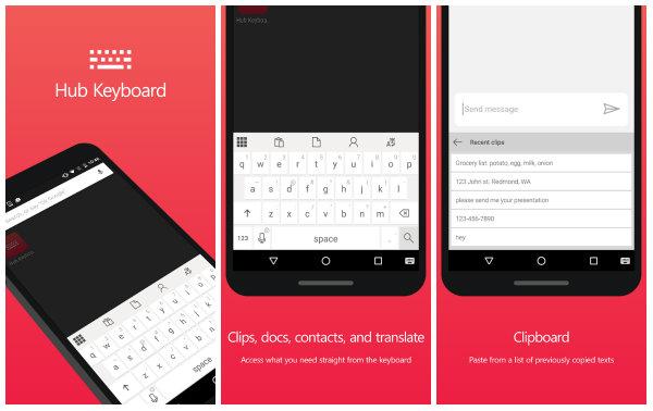 Microsoft, Android üçün klaviatura tətbiqi hazırlayıb