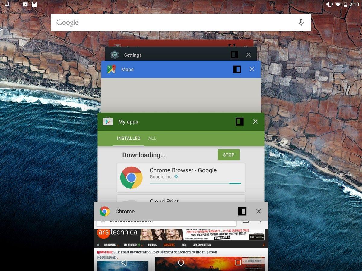 Android N ilə bağlı yeni görüntülər yayımlanıb