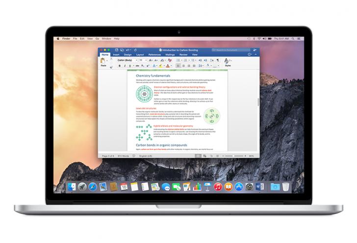 Mac üçün Microsoft Office paketinə əlavələr dəstəyi gəldi