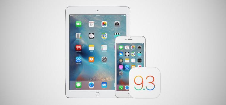 iOS 9.3.2-nin final versiyası işıq üzü gördü. Yeniliklər nələrdir?