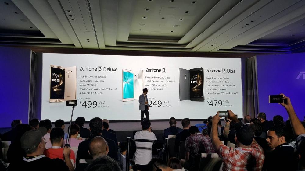 6GB RAM`a sahib ASUS Zenfone 3 Deluxe: Qarşılayın!