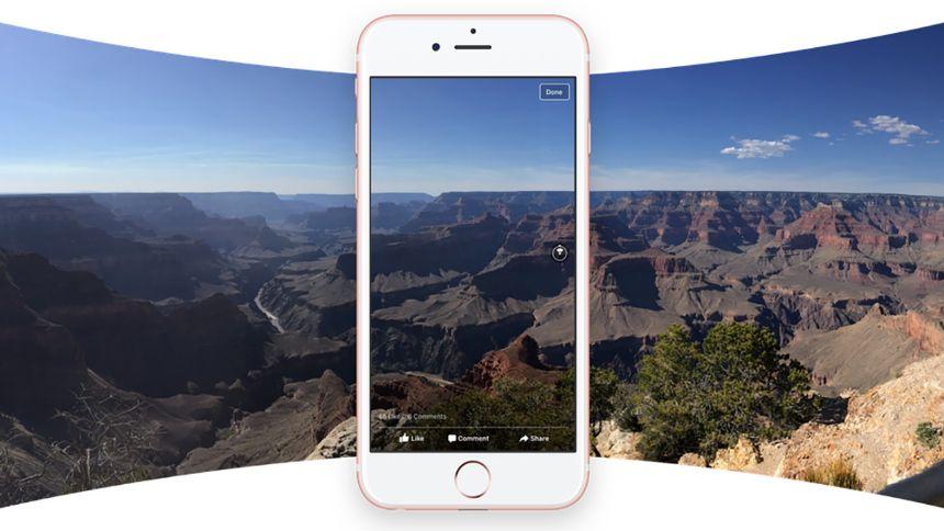 Facebook 360 dərəcəlik şəkilləri hər kəs üçün aktiv etdi