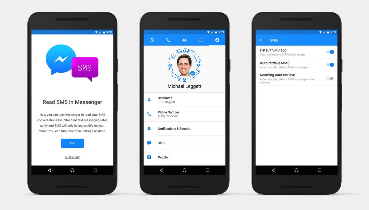 Facebook Messenger-də SMS dövrü!