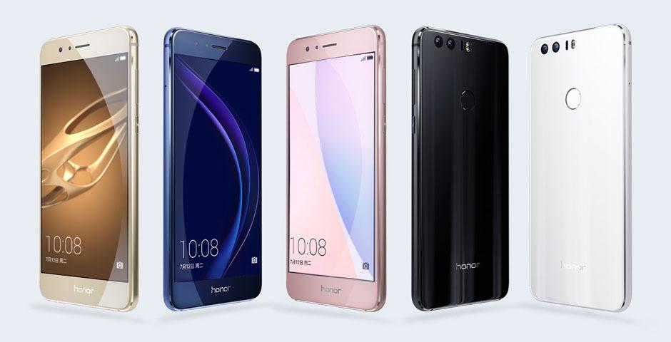 Huawei Honor 8-in texniki göstəriciləri rəsmi olaraq təqdim olunub