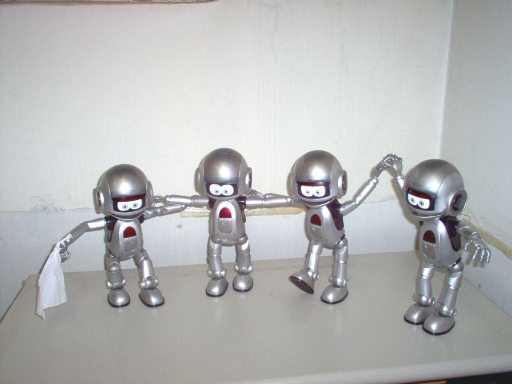 Robotların sinxron rəqsi Ginnesin Rekordlar Kitabına düşüb
