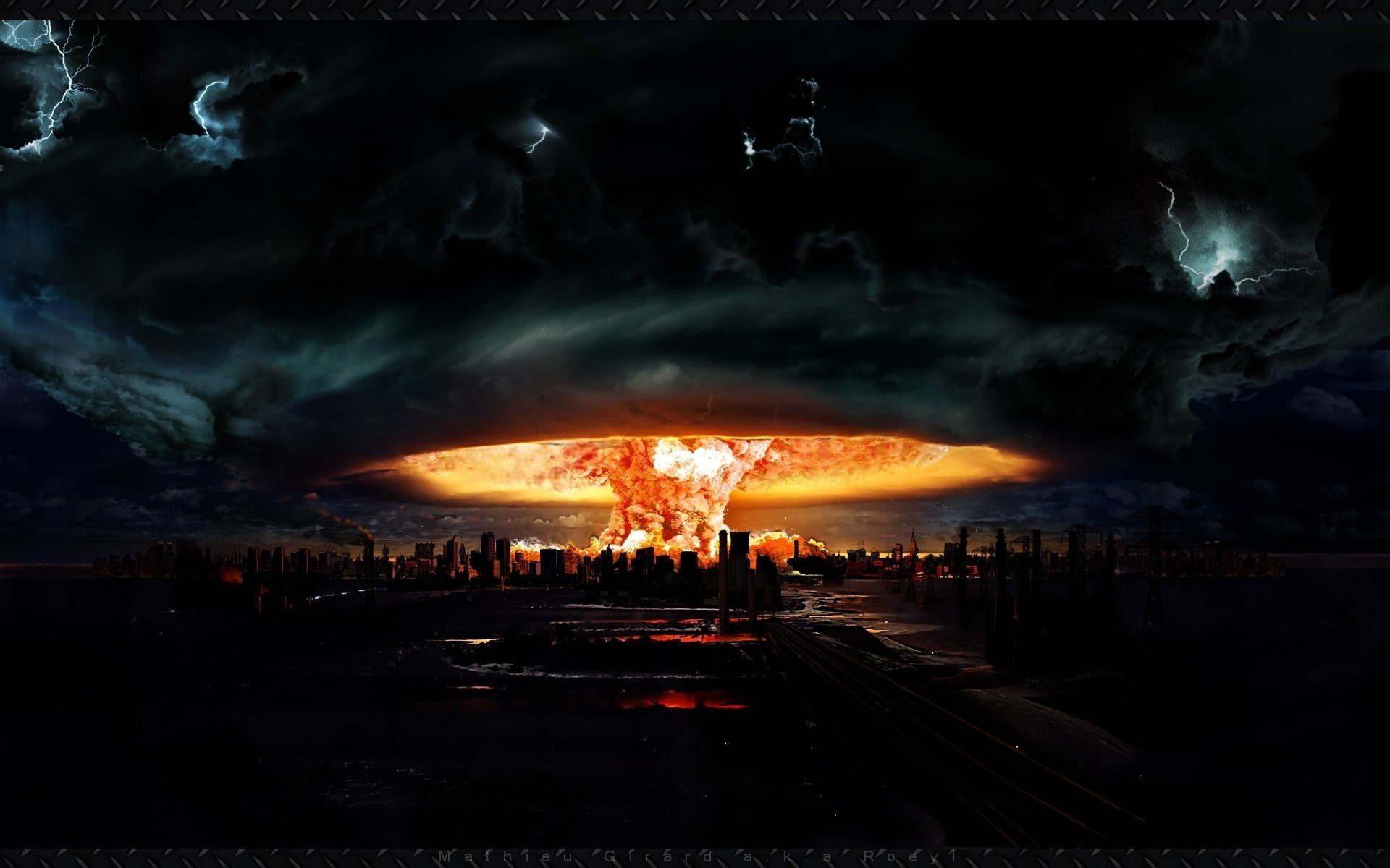 Nüvə bombasının partlamasının fəsadları (VİDEO)
