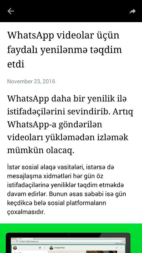"""Məşhur mesajlaşma platforması """"Telegram"""" özünün yeni bloq platforması """"Telegraph""""ı təqdim etdi"""