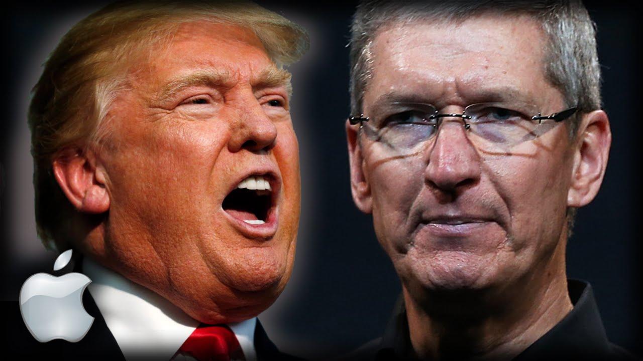 Axırki gözlənilən oldu: Donald Trump və Apple CEO-su Tim Cook arasında söhbət baş tutdu