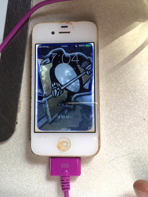 Buzlu göldə il yarım qalan iPhone, oradan işlək halda çıxardıldı