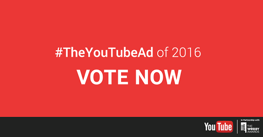 YouTube 2016-cı ilin Ən Yaxşı Reklamlarını Seçmək Üçün Səsvermə Keçirir.