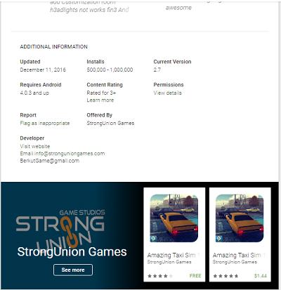 """""""Play Store""""da məşhurlaşan yerli oyun - """"Amazing Taxi Sim 1976"""""""