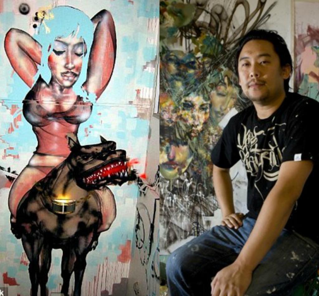 Bir qrafika şəkli ilə Facebookdan milyonlar qazanan rəssam - David Choe
