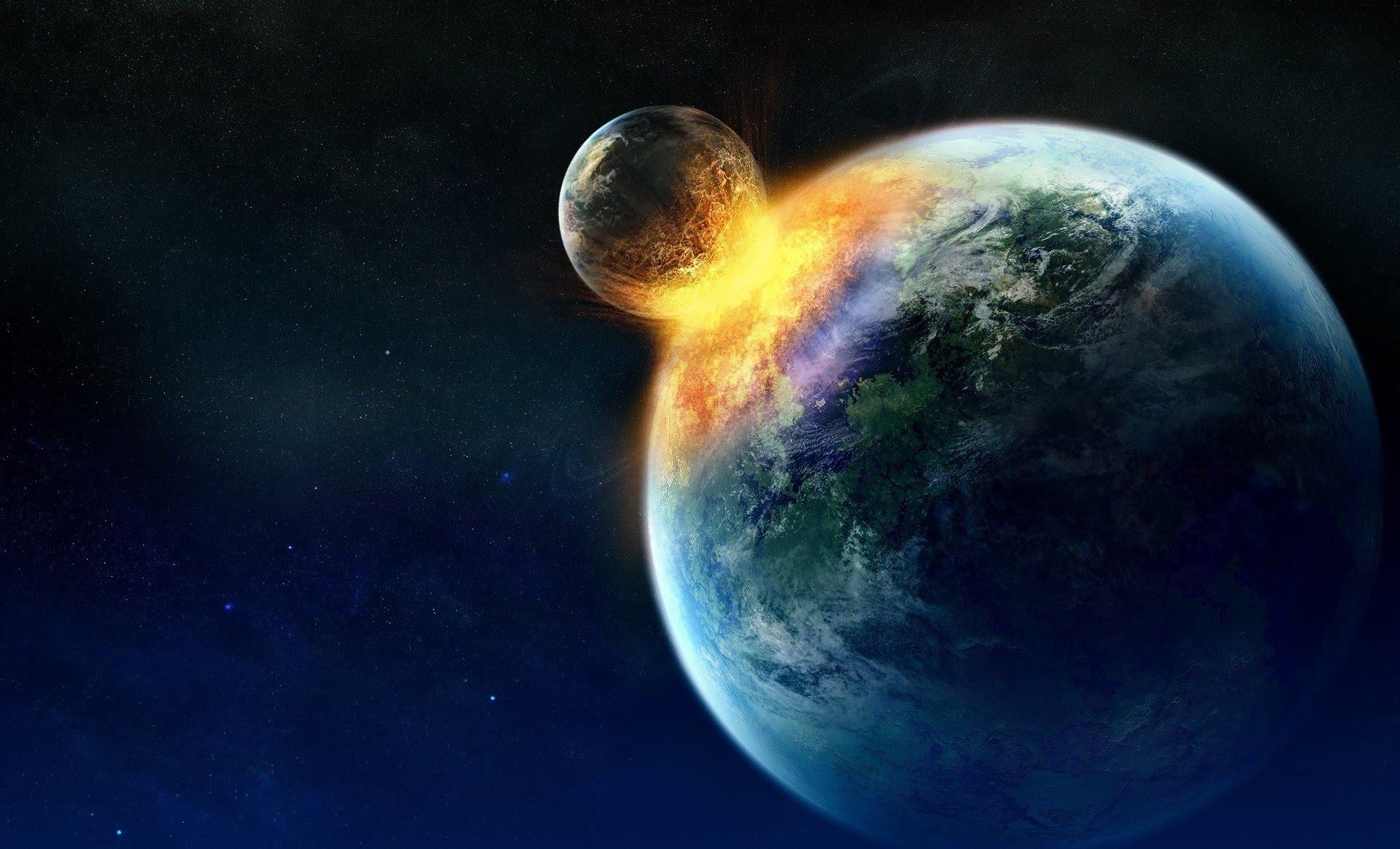 Alimlər, Yer kürəsi ilə Ayın toqquşacağı vaxtı təyin ediblər