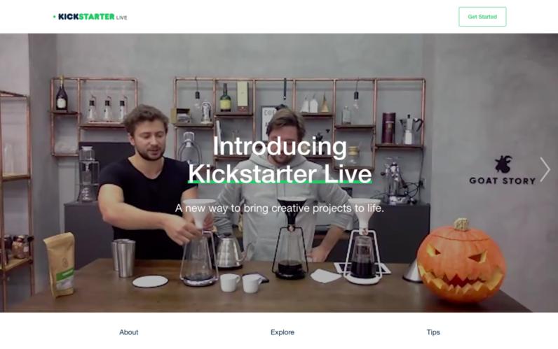 Kickstarter, canlı yayım platforması Huzza-nı satın aldı
