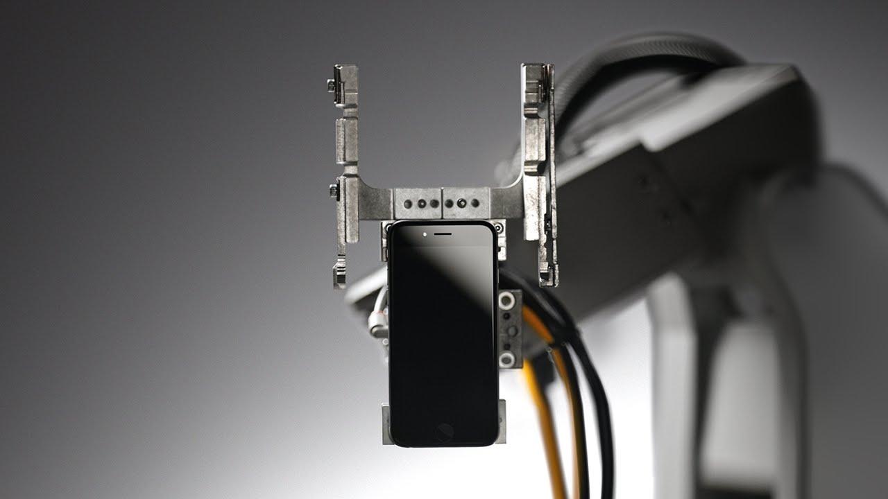 iPhone-nu hissələrə ayırıb qızıl tapan robot (VİDEO)