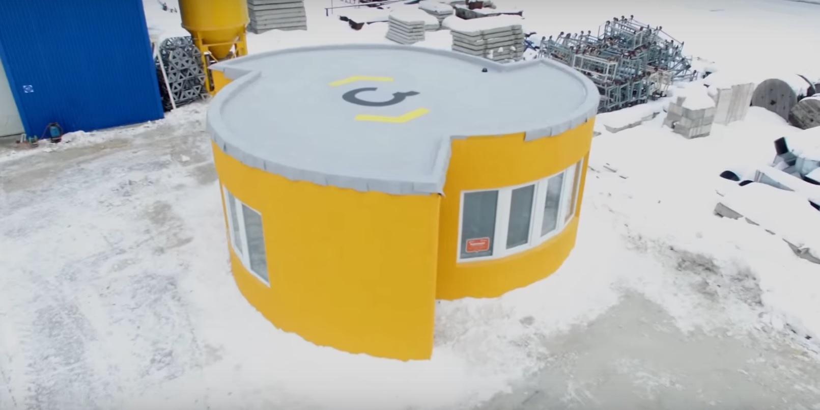 3D printer sayəsində 24 saata yaşayış evi çap edən startap
