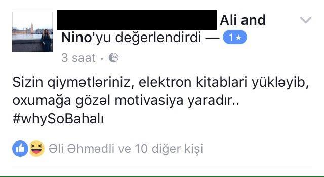 """Nə baş verdiyini anlamayan """"Ali və Nino""""ya sosial mediada yazılmış 25 əfsanə qiymətləndirmə (Review)"""
